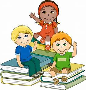 Kids Reading Books Cartoon Images & Pictures - Becuo ...