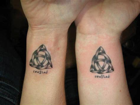 wonderful celtic tattoo  wrists