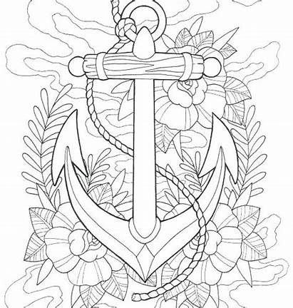 Coloring Tattoo Pages Rose Cool Printable Getcolorings