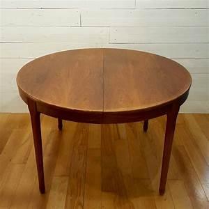 Table Ronde Extensible Design : table ronde extensible en palissandre meuble tv paris 1960 design market ~ Teatrodelosmanantiales.com Idées de Décoration