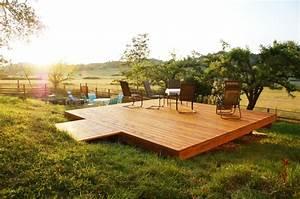 1001 conseils et design pratiques pour construire une With terrasse en bois surelevee