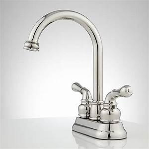Brannigan, Centerset, Gooseneck, Bathroom, Faucet