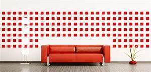 Muster Für Wandgestaltung : farbige muster an der wand ~ Lizthompson.info Haus und Dekorationen