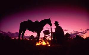 Horses cowboy people sunset fire wallpaper | 1920x1200 ...