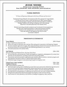 sample resumes labor and delivery