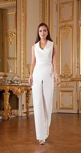 10 jolies manieres de porter le pantalon le jour de son With robe pour mariage cette combinaison pendentif marie