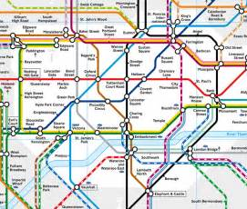 London Tube Map Zone 1