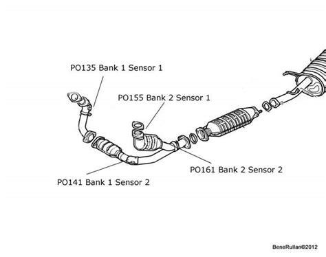 2007 Honda Accord O2 Sensor Bank 1 Sensor 2