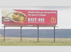 Billboard near Raton garners laughs and shares online