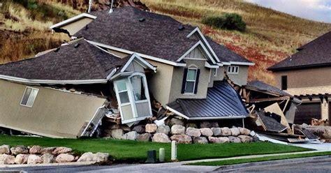 Utah Mudslide Destroys Home In North Salt Lake City