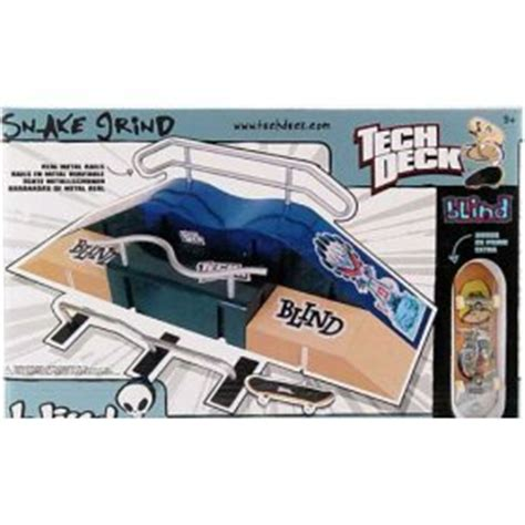 tech deck rs and skateparks tech deck blind skatepark snake grind with
