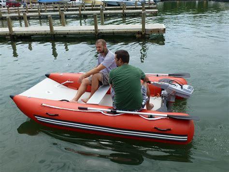 Sailing Catamaran Ebay by Unique Inflatable Motor Catamaran Inflatable Sport Boat