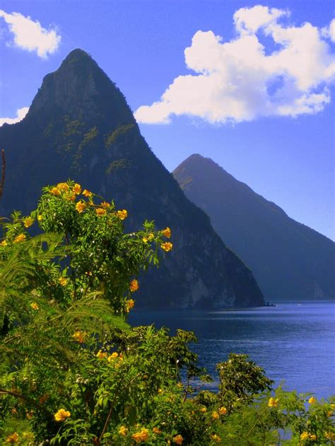 25 Best Ideas About Pitons St Lucia On Pinterest