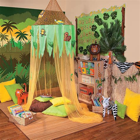 jungle reading corner idea orientaltrading 112 | e98b7f1e7d1bfc74369237c28e17d9cf
