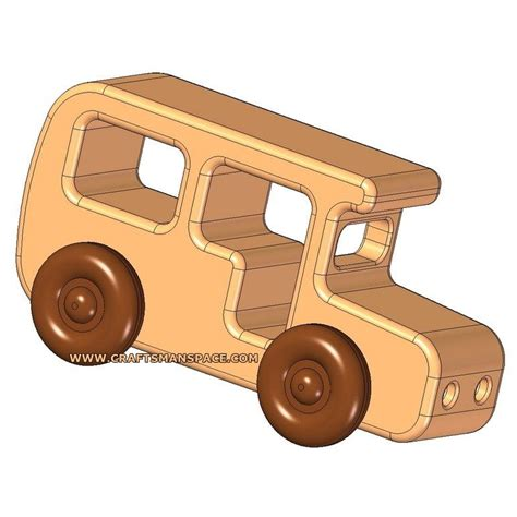 wooden bus kids toy plan projects pinterest toy wooden toys  wooden toy trucks
