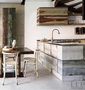 les 160 meilleures images du tableau kitchen sur pinterest With amazing meuble cuisine maison du monde 4 cuisine le bois sinvite dans la cuisine dans la deco ou