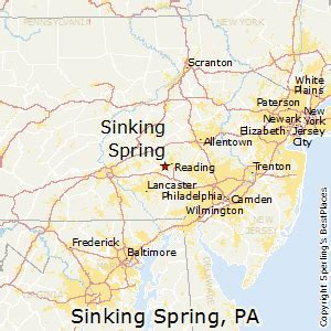 best places to live in sinking spring pennsylvania