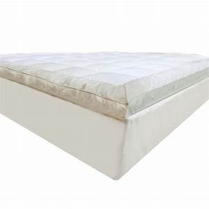 luxo king microfibre pillow top mattress topper buy king With best mattress pad for pillow top mattress