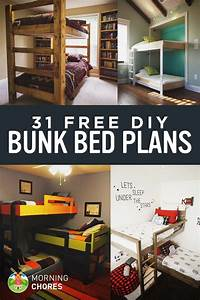 31 DIY Bunk Bed Plans & Ideas that Will Save a Lot of