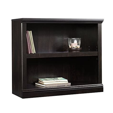 Sauder Bookcase by Sauder 2 Shelf Bookcase Estate Black Ebay
