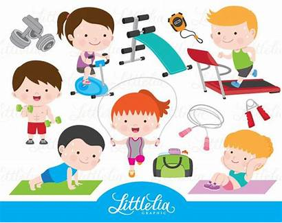 Clipart Gym Health Exercise Klettern Fitness Cliparts