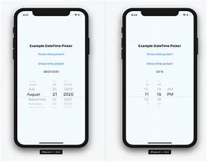 React Native Date  U0026 Time Picker Component For Ios And Android