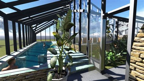 gazeebo pool greenhouse sauna youtube