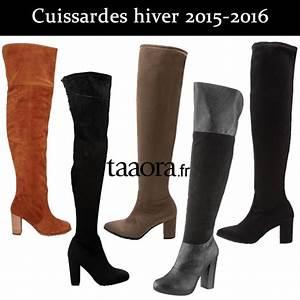 Tendance Chaussures Automne Hiver 2016 : cuissardes bottes tendances automne hiver 2015 2016 ~ Melissatoandfro.com Idées de Décoration