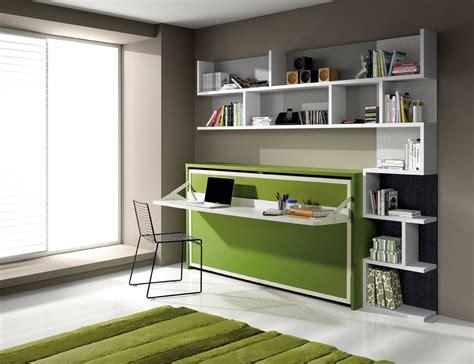 lit avec bureau intégré lit escamotable avec bureau