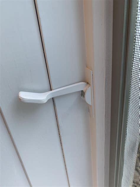 fix broken casement window latch fixit