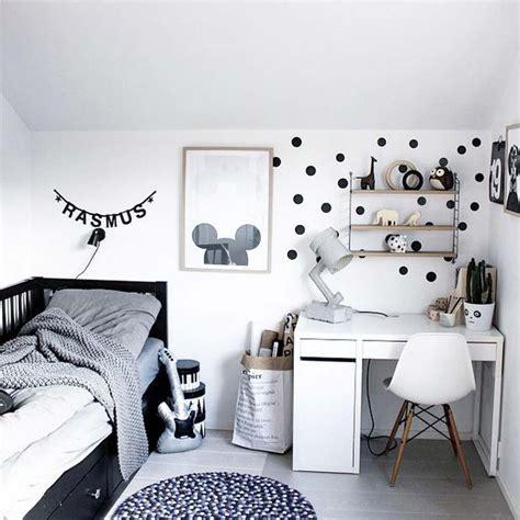 pinterest  chambres denfants en noir  blanc deco