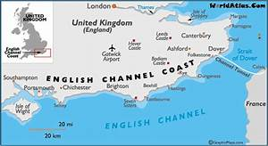 English Channel Coast Map and Information Page