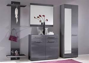 Moderne Garderoben Set : garderobe garderoben set schuhschrank paneel spiegel schrank grau woody 63 00034 ebay ~ Frokenaadalensverden.com Haus und Dekorationen