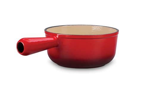 Gusseisen Topf Le Creuset by Le Creuset Cast Iron Open Sauce Pot 1 Quart Cherry