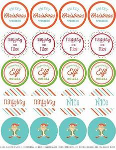 free christmas elf printables and holiday label templates With how to print round stickers