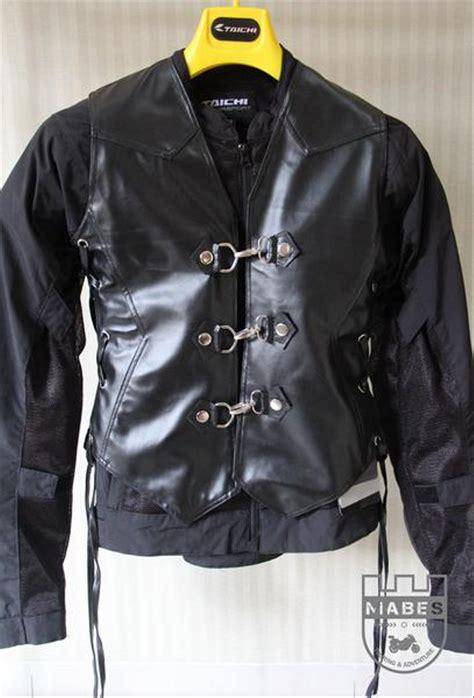 jual rompi motor lady bikers kulit sintetis warna hitam