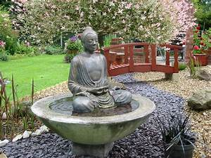 Large buddha water feature fountain outdoor garden patio for Outdoor patio fountains