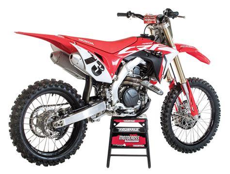 honda motocross 2020 mxa race test the real test of the 2019 honda crf450
