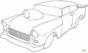 dibujo de chevy pro sportsman de 1955 para colorear With 1955 chevy hot rods