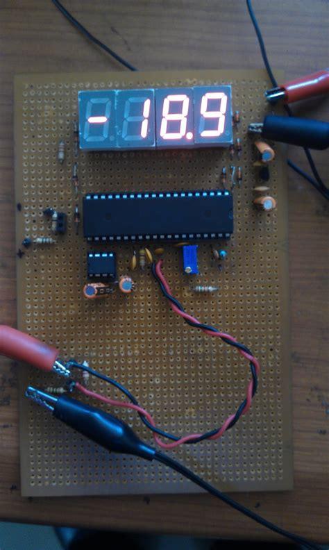 ham radio mipl digital voltmeter using ic7107 ham radio mipl digital volt meter using icl7107