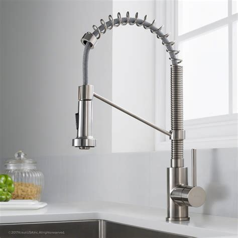 Kitchen Faucet Industrial by Kraus Kpf 1610ss Bolden Single Handle 18 Inch Commercial