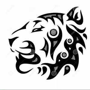 Tribal-tiger-head by luvbug4eva21 on DeviantArt