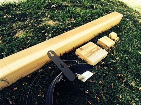 how to build a garden hose hanger beginner diy