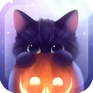 Halloween Live Wallpaper Apk by Halloween Kitten For Android