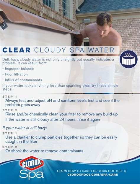 how to make tub water clear how to fix a major tub issue cloudy water easy tips