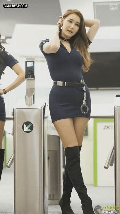 Young Tight Skirt Ggulbest Lee Hyo Police