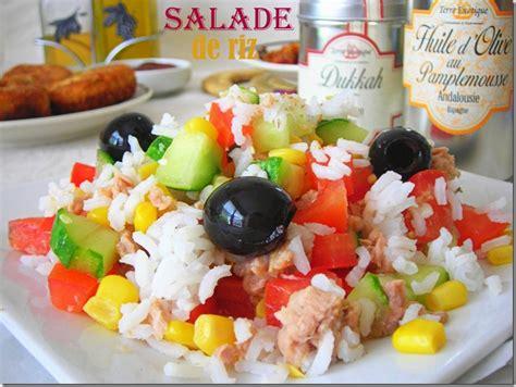 cuisine italienne salade de riz facile le cuisine de samar