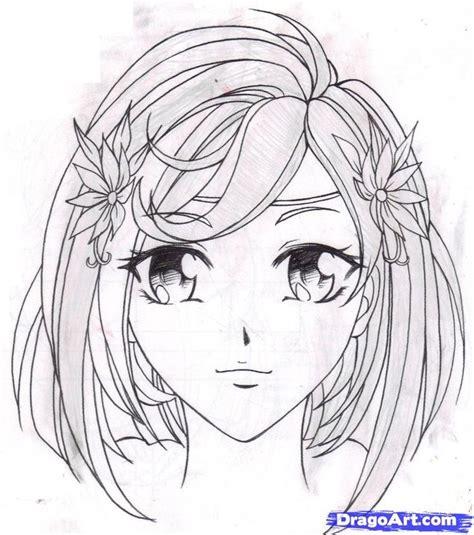 draw fantasy anime   draw  anime girl