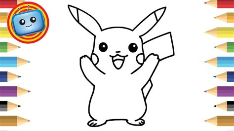 draw pokemon pikachu simple drawing game