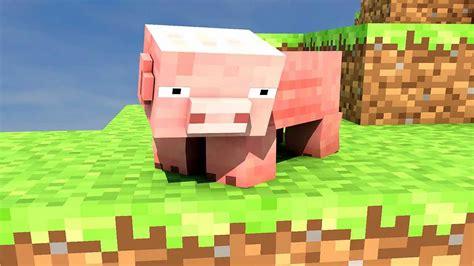 Troll Pig  Minecraft Animation (testing New Graphics